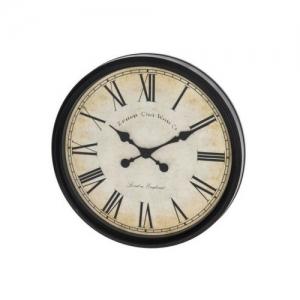 """Sieninis laikrodis """"Juodoji klasika"""" (50 cm)"""