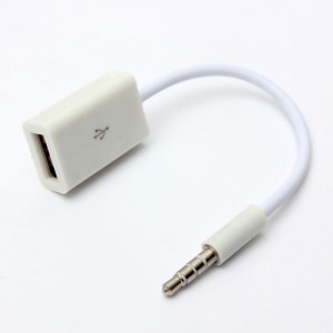 "3.5 mm AUX garso jungtis į USB ""Ultra Sound"""