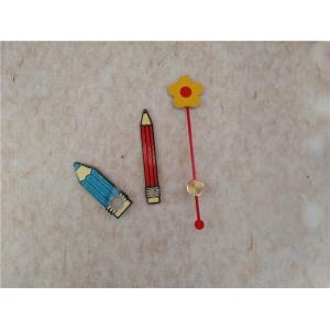 """Laikrodžio mechanizmas """"Gėlytė ir pieštukai"""" (22mm ašis, 10 vnt.)"""
