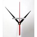 """Laikrodžio mechanizmas """"Stilingoji juodoji elegancija 3"""" (10 vnt.)"""