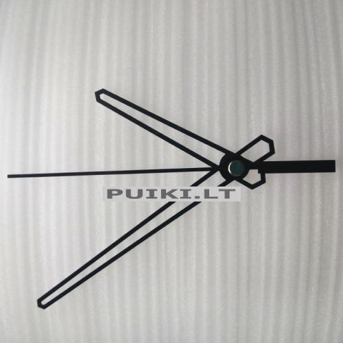 """Laikrodžio mechanizmas """"Tušti kardai"""" (10 vnt.)"""