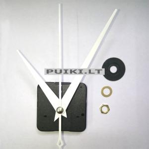 """Laikrodžio mechanizmas """"Baltosios stilingosios rodyklės 2"""""""