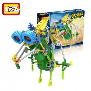 """Elektroninis robotas - surenkamas vaikiškas konstruktorius """"Robotų pasaulis"""" (vaiko lavinimas, lengvai surenkamas)"""