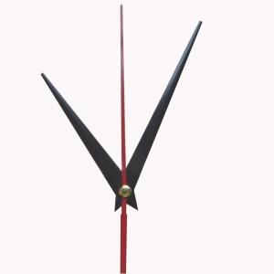 """Laikrodžio mechanizmas """"Juodieji kardai su raudona rodykle"""""""