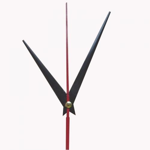 """Laikrodžio mechanizmas """"Juodieji kardai su raudona rodykle"""" (10 vnt.)"""