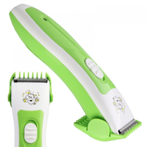 """Elektroninė plaukų kirpimo mašinėlė """"Žaliasis šunelis"""" (5 val krovimas, 120 min veikimas)"""