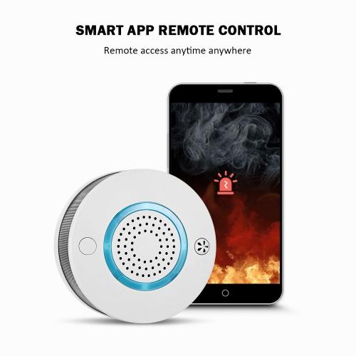 """Išmanusis dūmų ir ugnies jutiklis - signalizacija """"Mobilus patikimumas"""""""