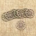 """Dekoratyviniai puošybos elementai """"Saulės ratas"""" (2.5 cm)"""