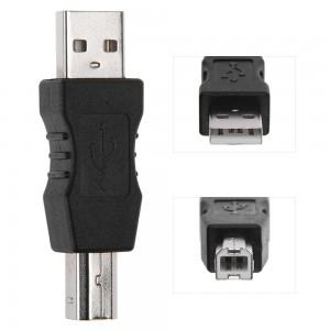 USB 2.0 A-B AM-BM spausdintuvo adapteris