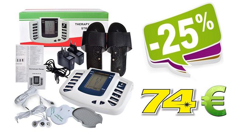 """Elektroninis kojų masažuoklis-treniruoklis """"Nuostabios kojytės 3"""" (+ 8 elektrodų pagalvėlės)"""