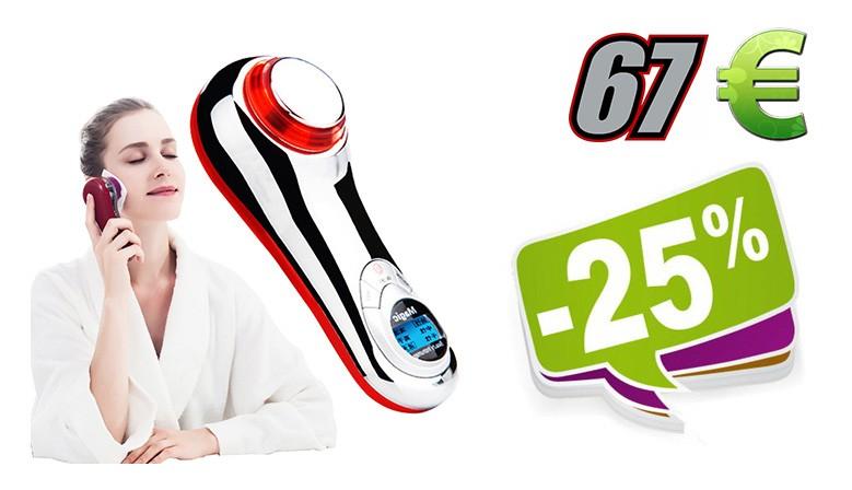 """Elektroninis ultragarsinis veido masažuoklis """"Nuostabi"""""""